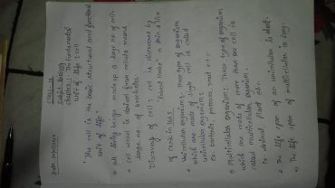 Fwd: cl 9 biology notes