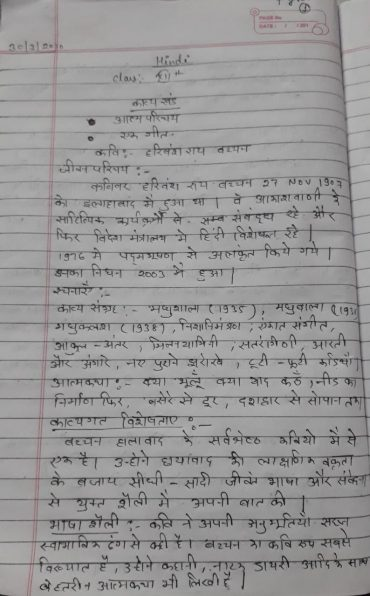 Fwd: Hindi – chapter -1 , class-12