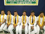 Toppers of Board Exam Honoured