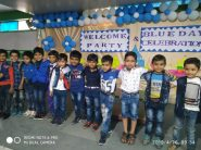 Welcome Party and Blue Day Celebration